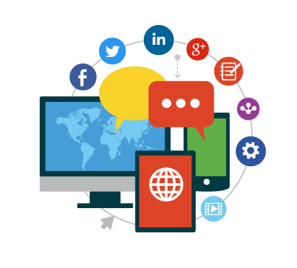 Content writing services on social media profile