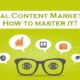 Visual Content Marketing : How to master it?