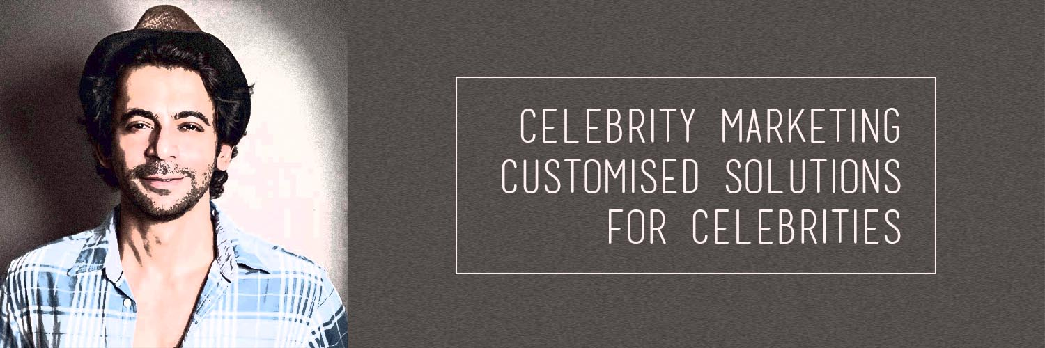 Celebrity Marketing Banner