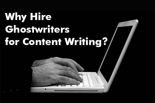 High Ghostwriters for Content Writing