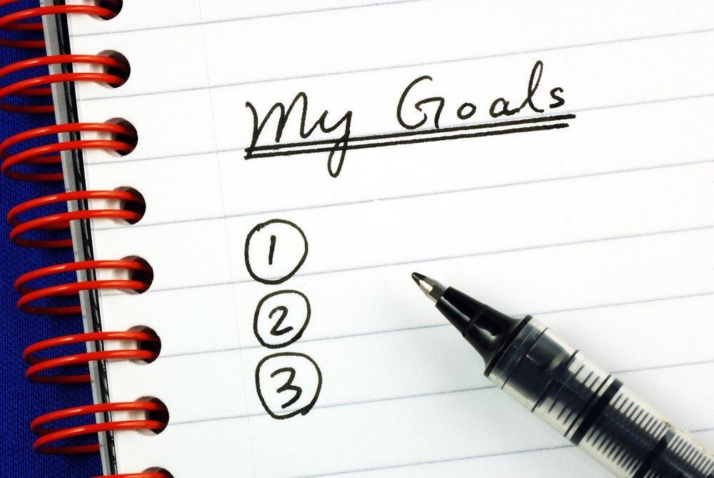 list your goal