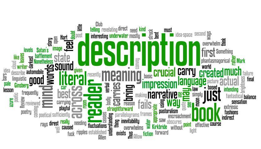 Create the right description