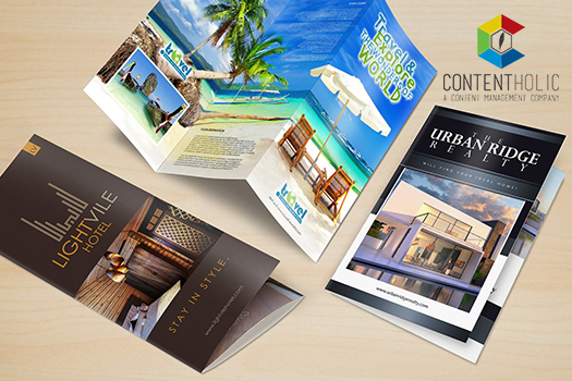 brochure design in delhi