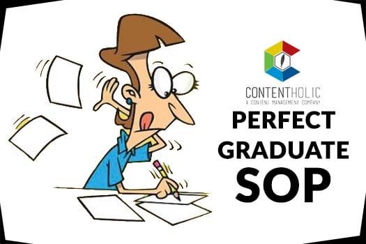 perfect graduate SOP